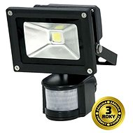 Solight outdoor floodlight with sensor 10W, black