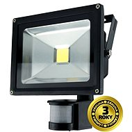 Solight outdoor floodlight with sensor 20W, black