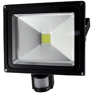 Solight outdoor spotlight with sensor 30W, black