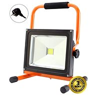 Solight outdoor spotlight 50W, black and orange