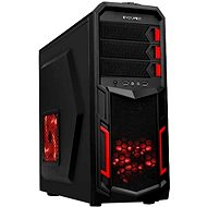 EVOLVEO K2 black/red - PC Tower