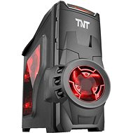 EVOLVEO SA05 Black/Red - PC Case