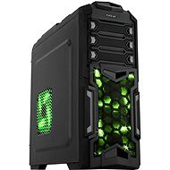 EVOLVEO Y01 black/green - PC Tower