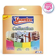 SPONTEX Collection Microfibre 4 ks