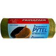 PRIMAPACK 2-komorové pytle na odpad 2x35L/10ks - Pytle na odpadky