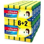 VILEDA Style Tip Top houbička 8x5ks ks - Houba