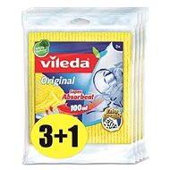 VILEDA Houbový hadřík 4 x 3ks
