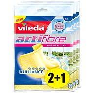 VILEDA Actifibre mikrohadřík na okna 3x1 ks - Hadřík