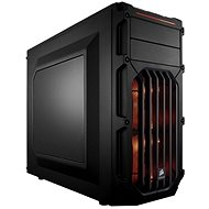 Corsair SPEC-03 Orange LED Carbide Series black with transparent sides