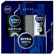 NIVEA MEN kazeta Active Clean & Creme