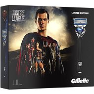 GILLETTE Fusion Proshield JUSTICE LEAGUE Superman kazeta - Dárková sada