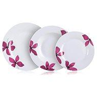 BANQUET Sada talířů PURPLE, 18ks - Sada talířů