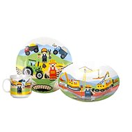 BANQUET Kinder 3-teiliges Set von The Builders A11674