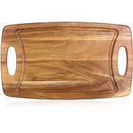 BANQUET Doska na krájanie drevené PREMIUM Dark Brown