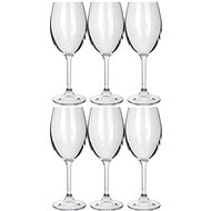 BANQUET Leona Crysta bílé víno 230 A11304 - Sada sklenic