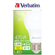 Verbatim 5.5W LED E27 2700K - LED žárovka