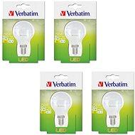 Verbatim 3.1W LED E14 2700K set 4ks - LED žárovka