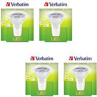 Verbatim 3.3W LED GU5.3 2700K set 4ks