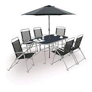 V-Garden Table set with umbrella VeGAS MARIA 6 KOMPLET - Set