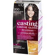 L´ORÉAL CASTING Creme Gloss 200 Ebenová čierna