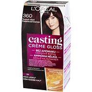 L'ORÉAL CASTING Creme Gloss 360 Tmavá višeň - Barva na vlasy