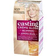 L'ORÉAL CASTING Creme Gloss 1021 Blond světlá perleťová - Barva na vlasy