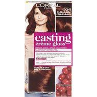 ĽORÉAL CASTING Creme Gloss 554 Chilli čokoláda