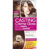 L´ORÉAL CASTING Creme Gloss 714 Nugátový krém