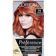 L'ORÉAL PARIS Féria Préférence Mango 74 intenzivní měděná - Barva na vlasy