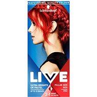 SCHWARZKOPF LIVE Color XXL 92 Pillar Box Red 50 ml - Barva na vlasy