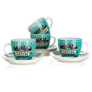 BANQUET set of cups COFFEE A11738 - Set
