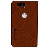 Vest Anti-Radiation pro Huawei Nexus 6P hnědé - Pouzdro na mobilní telefon