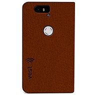 Vest Anti-Radiation pro Huawei Nexus 6P hnědé
