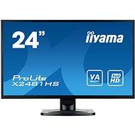 "24"" iiyama ProLite X2481HS-B1 - LCD monitor"