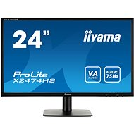 "24"" iiyama ProLite X2474HS-B1 - LCD monitor"