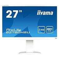 """27"""" iiyama ProLite B2780HSU-W1 bílý"""