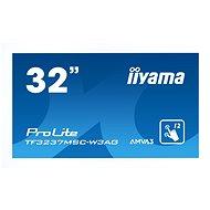 "32"" iiyama ProLite TF3237MSC MultiTouch white - Large-Format Display"