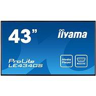"43"" iiyama ProLite LE4340S-B1 - Large-Format Display"