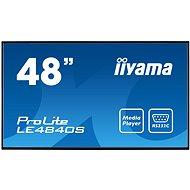 "48"" iiyama ProLite LE4840S-B1 - Large-Format Display"
