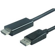 PremiumCord DisplayPort - HDMI propojovací 3m bílý