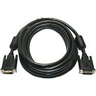 ROLINE DVI-D-Schnittstelle für LCD (DVI-D <-> DVI-D), Dual-Link, geschirmt, 10m