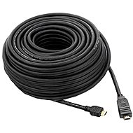 PremiumCord HDMI High Speed with Ethernet interface 30 metres Black - Video Cable