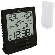 ECG-MS 002 B Schwarz - Wetterstation