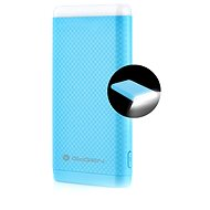 Gogen Power Bank 8000 mAh blue lamp