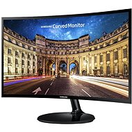 "Samsung 27"" Curved Monitor - 1.8m Curve Radius Full HD LC27F390FHUXEN - LED Monitor"