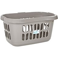 Wham Laundry Basket 71l Coffee 17480 - Laundry Basket