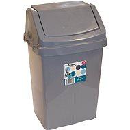 Wham Waste Bin 15L Coffee 17027 - Dustbin