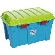 Wham Box s víkem 50l modrý 11882