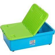 Wham Box 12741 hinged lid 32 litres blue
