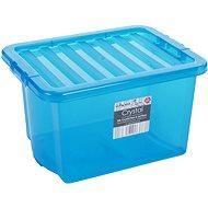 Wham Box s víkem 24l modrá 10843 - Úložný box